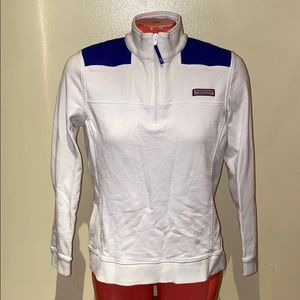 Vineyard Vines zip up sweater top shirt polo jacke